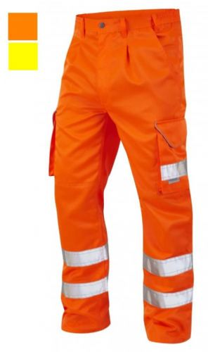BRN 12 Hi Visibility Cargo Trousers